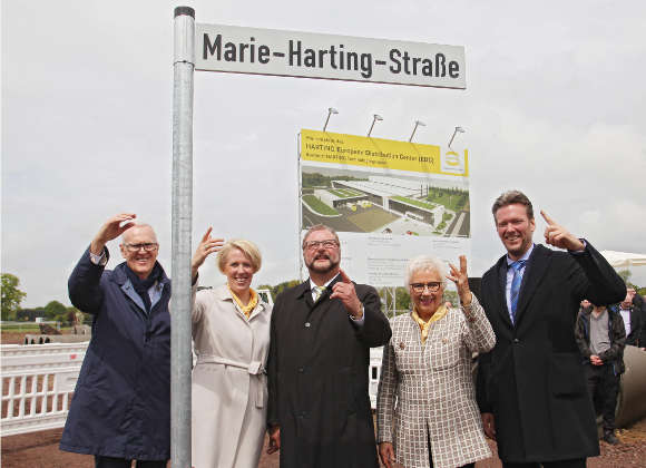 Harting investiert 40 Mio. Euro in modernes European Distribution Center