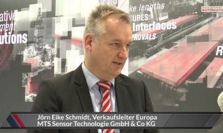 Video: Interview bei MTS Sensors auf der sps ipc drives