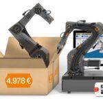 Start in die Industrierobotik für unter 5000 €