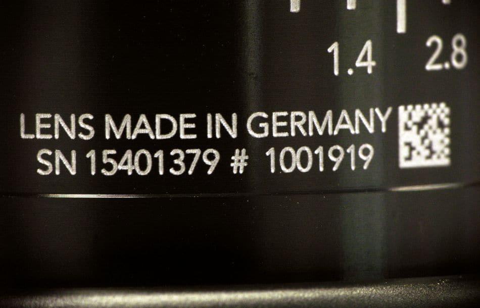 Industrieobjektive von Schneider-Kreuznach jetzt mit DataMatrix-Code
