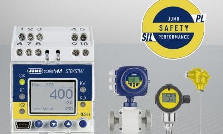 Jumo Safety Performance: Innovative SIL- und PL-Kompaktlösung für Temperatur