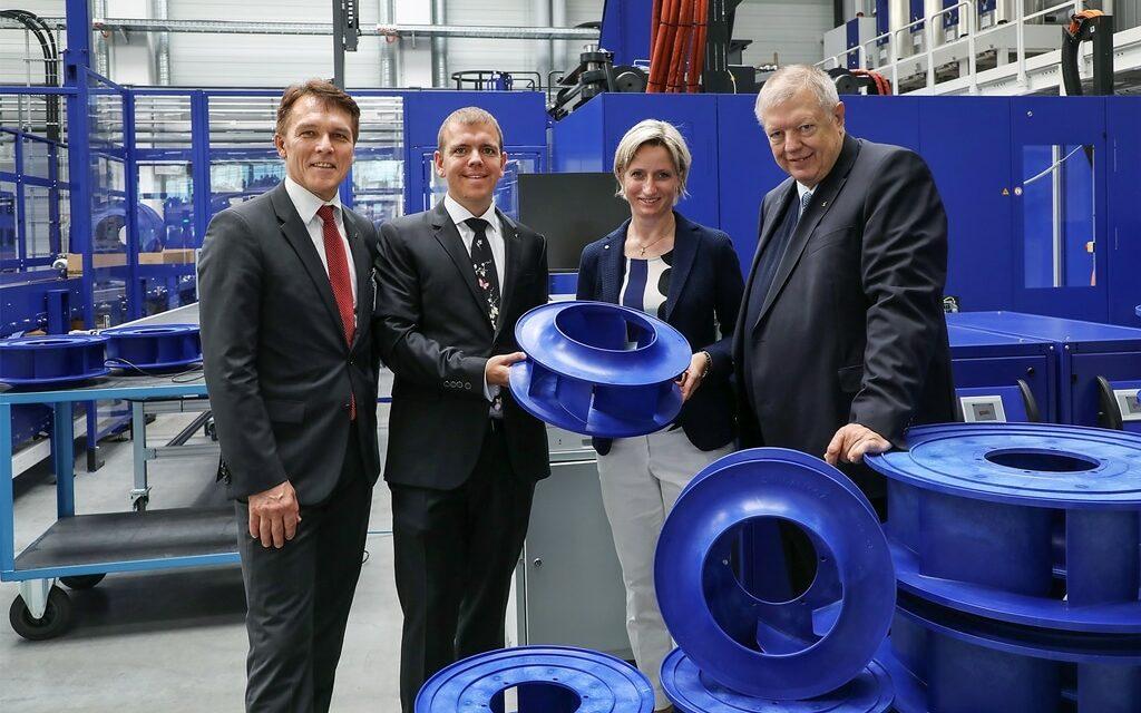 Ziehl-Abegg startet Spritzgusstechnik auf höchstem Niveau – Neubau für EC-Fertigung