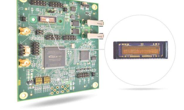 Unitronic präsentiert neuen CMOS-Image-Sensor für maschinelle Bildverarbeitunganwendungen