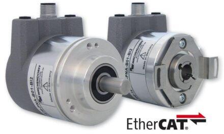 Hochgenau und hochdynamisch: der neue EtherCAT-Drehgeber von Wachendorff