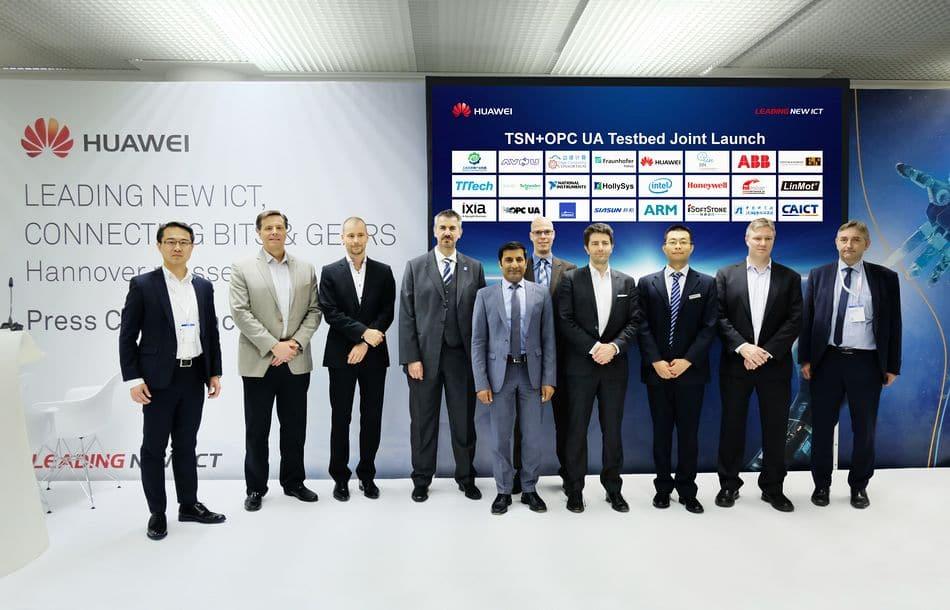 B&R tritt dem Huawei-Testbed zu OPC UA TSN bei