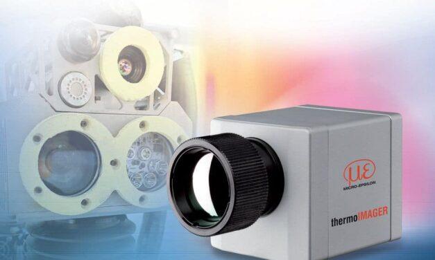 Hightech-Roboter mit Wärmebildkamera identifiziert Hotspots an schwer zugänglichen Stellen