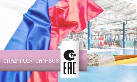 Sicherer und schneller Datenaustausch mit neuer CAN-Busleitung von igus