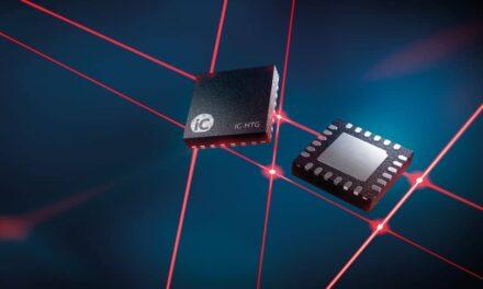 Integrierter Laserdioden-Treiber zur digitalen Ansteuerung mit einem Mikrocontroller