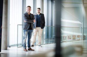 SloopTools Team: Geschäftsführer & Gründer Lukas Schopp (li) und Alexander Taker, Softwareentwickler
