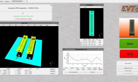 EVT erkennt automatisch Anomalien in strukturierten Oberflächen