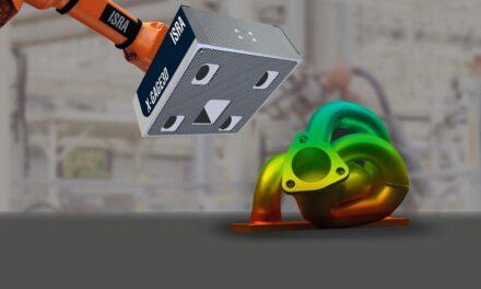 ISRA: 3D-Multi-Stereo-Sensor mit großem Messfeld erzielt kürzeste Scanzeiten