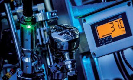 Temperaturmesstechnik ermöglicht lückenlose Überwachung im laufenden Prozess