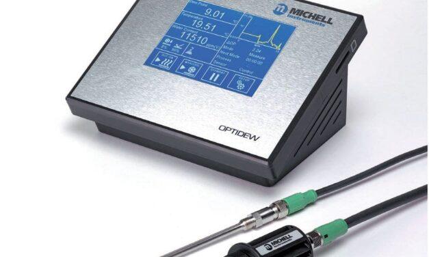 Taupunktspiegelhygrometer für schnelles dynamisches Ansprechen auf Feuchteänderungen