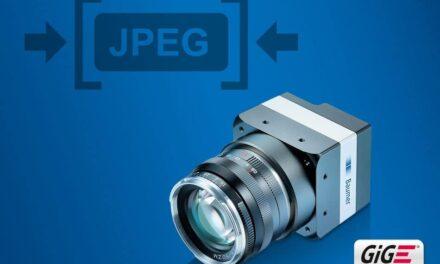 Baumer GigE Kameras mit integrierter JPEG-Bildkompression