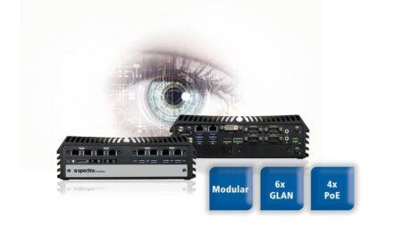 Neuer lüfterloser Mini-PC von Spektra für die Bildverarbeitung