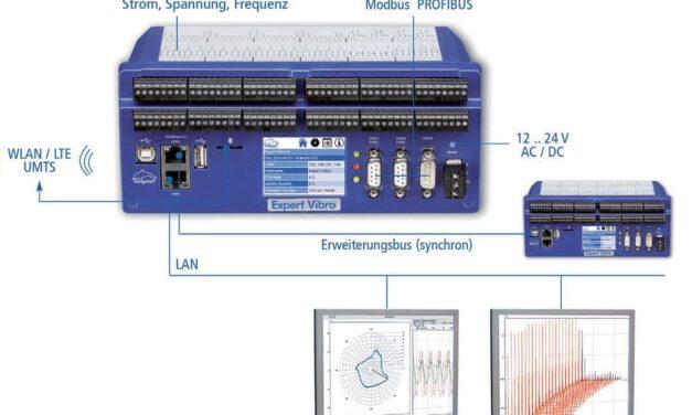 Produktreihe von Schwingungsmessgeräten wird durch neue Kanalvarianten erweitert