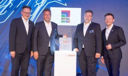 Bosch Global Supplier Award für Rittal