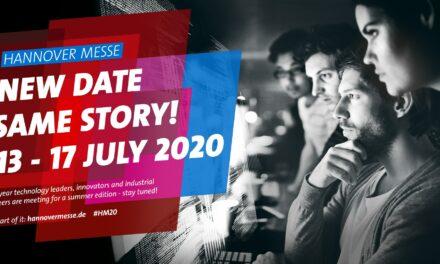 Neuer Termin: Hannover Messe 2020 vom 13. bis 17. Juli