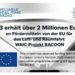 2,14 Mio. für Luft- und Raumfahrtprojekt