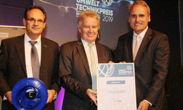 Finalist beim Umwelttechnikpreis 2019