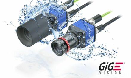Wasserdichte GigE-Kamera im Kompaktformat