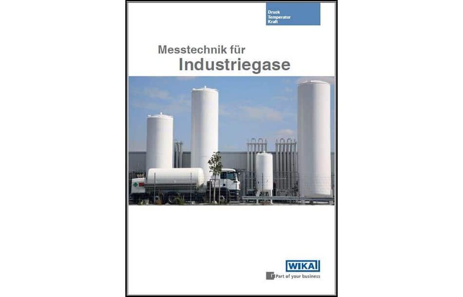 """Broschüre """"Messtechnik für Industriegase"""""""