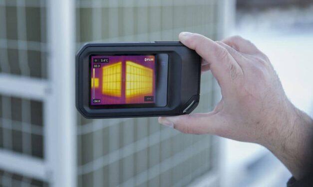 Wärmebildkamera mit Cloud-Konnektivität