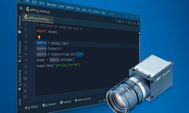 Software zur effizienten Kameraintegration