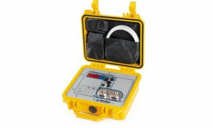 Tragbares Hygrometer mit erweitertem Messbereich