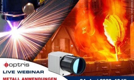 Webinar zur berührungslosen Temperaturmesstechnik in der Metallindustrie