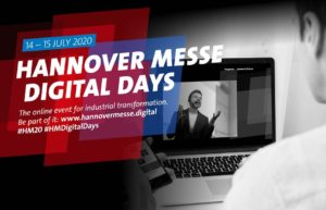 Hannover Messe Digital Days @ https://www.hannovermesse.de/de/news/digital-days/hannover-messe-digital-days
