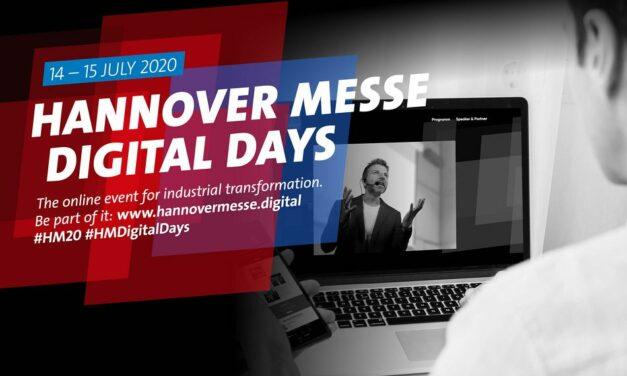 Hannover Messe Digital Days sind gestartet