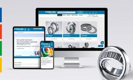 Digitale Angebote mit Mehrwert: Findling Wälzlager präsentiert neue Website