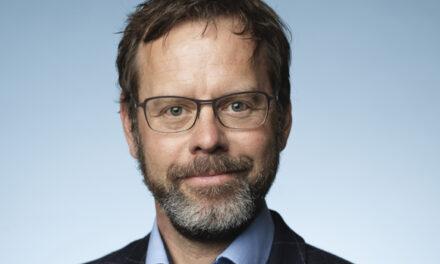 Joe Wilke, Ericsson, referiert auf den Hannover Messe Digital Days