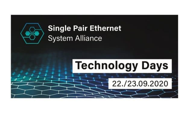 Digitalkonferenz zu Single Pair Ethernet