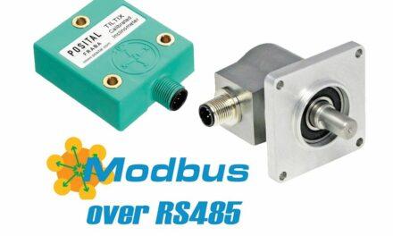 Modbus RTU erweitert Schnittstellenauswahl
