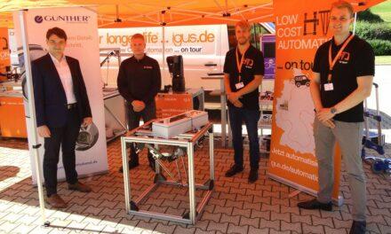 Igus ist mit Low Cost Automation Roadshow unterwegs