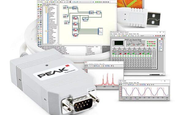 Messtechnik-Software unterstützt CAN-Interfaces
