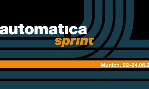 Automatica erweitert Messe-Portfolio: automatica sprint