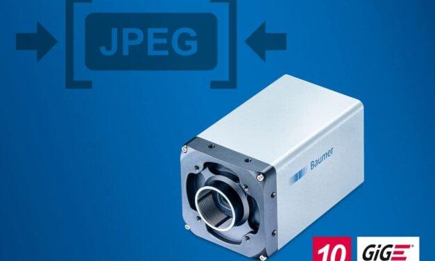 High-speed GigE-Kameras mit integrierter JPEG-Bildkompression