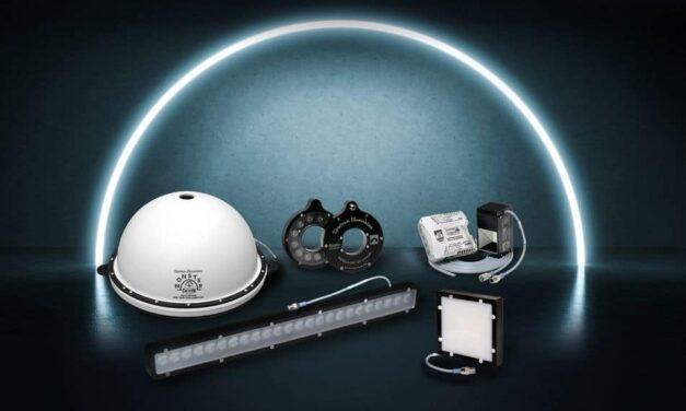 Übergroße LED-Beleuchtung für die Bildverarbeitung
