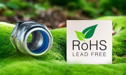 Bleifreie Kabelverschraubungen nach RoHS-2