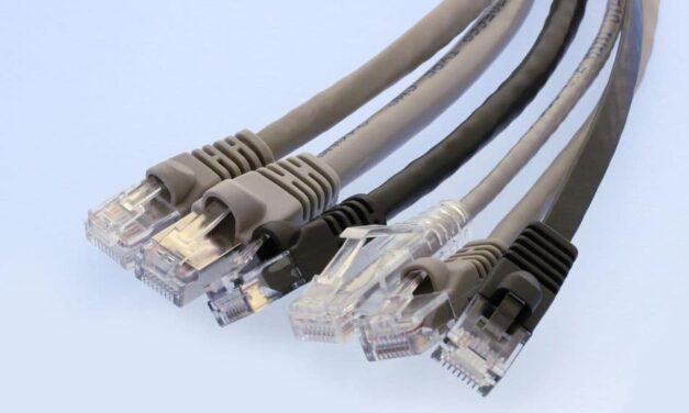 Vielfältige Netzwerk-Kabelverbindungen nach Wahl