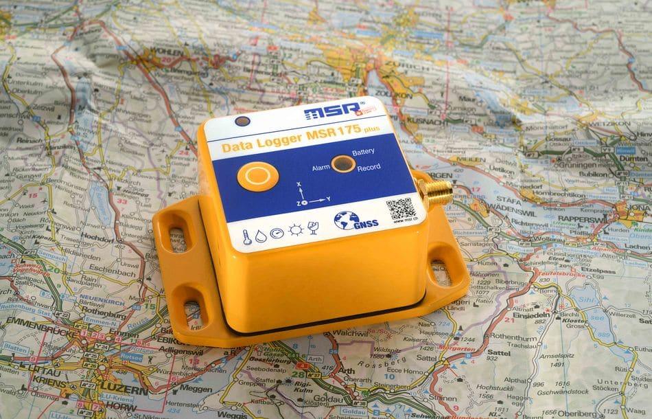 GPS-Tracking und parallele Schockerfassung