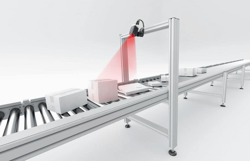 Sensopart: Sensor mit integrierter Optik