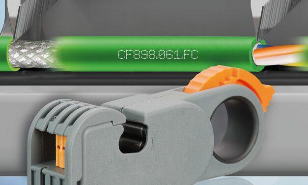FastConnect Leitung von Igus reduziert Konfektionierungszeit