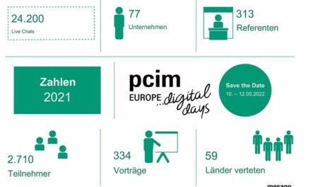Erneut positive Resonanz für PCIM Europe digital days