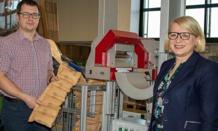 Wago stellt auf biologisch abbaubare Papierluftpolster um