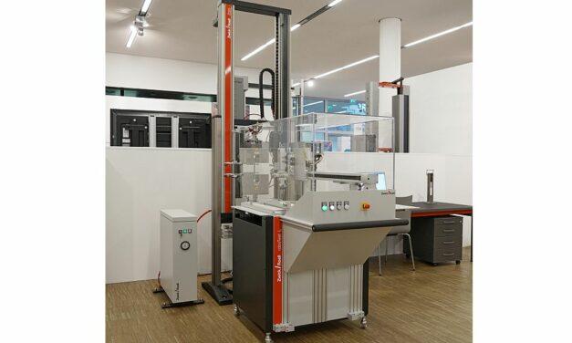 Automatisiertes Prüfsystem für Elastomere