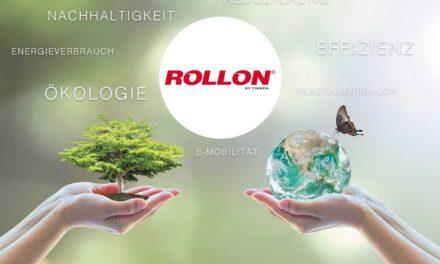 Rollon schaltet auf Grün